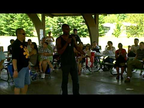 Dave Chappelle at the annual Philippines-American picnic Dayton Ohio July 10,2010.AVI