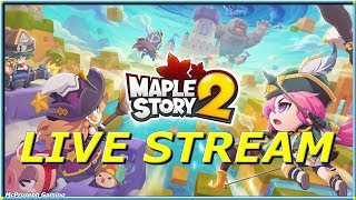 MAKING OUR GUILD AND EXPLORING THE WORLD [MAPLE STORY 2] - YOUTUBE