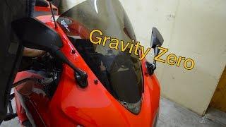 Установка gravity zero corsа, интегрированный стоп-сигнал на Honda cbr1000rr