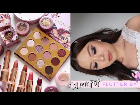 COLOURPOP FLUTTER BY COLLECTION ⋆ 3 Looks, Review + Comparisons