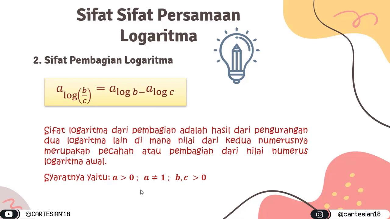 Logaritma Adalah