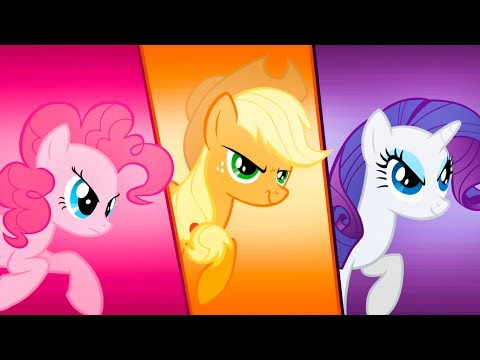 ДРУЖБА - ЭТО ЧУДО #4 Май Литл Пони с Кидом по Мультику My Little Pony на пурумчата
