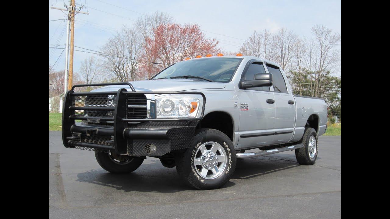 2007 Dodge Ram 2500 Lone Star 4x4 67l Cummins Diesel Sold Youtube