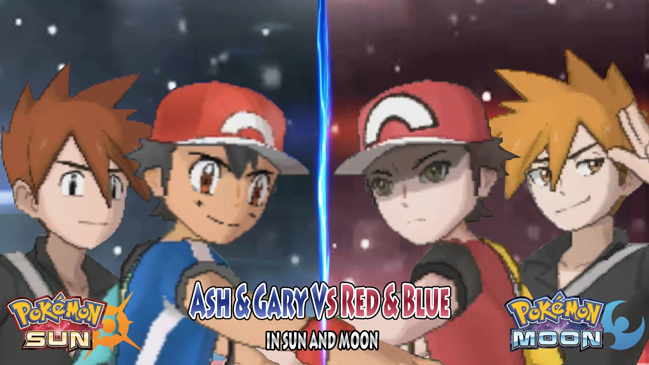 red vs blue sun and moon - photo #11