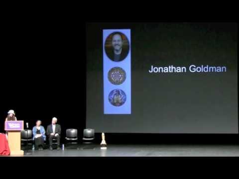 Jonathan Goldman Massage Therapy Hall Of Fame Inductee 2011