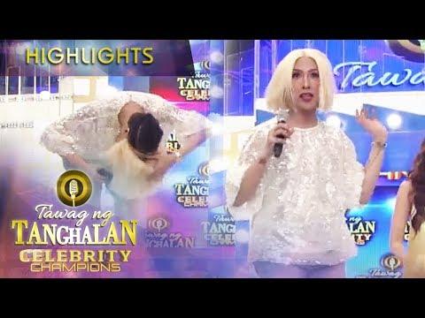 Vice plays with his wig | Tawag ng Tanghalan