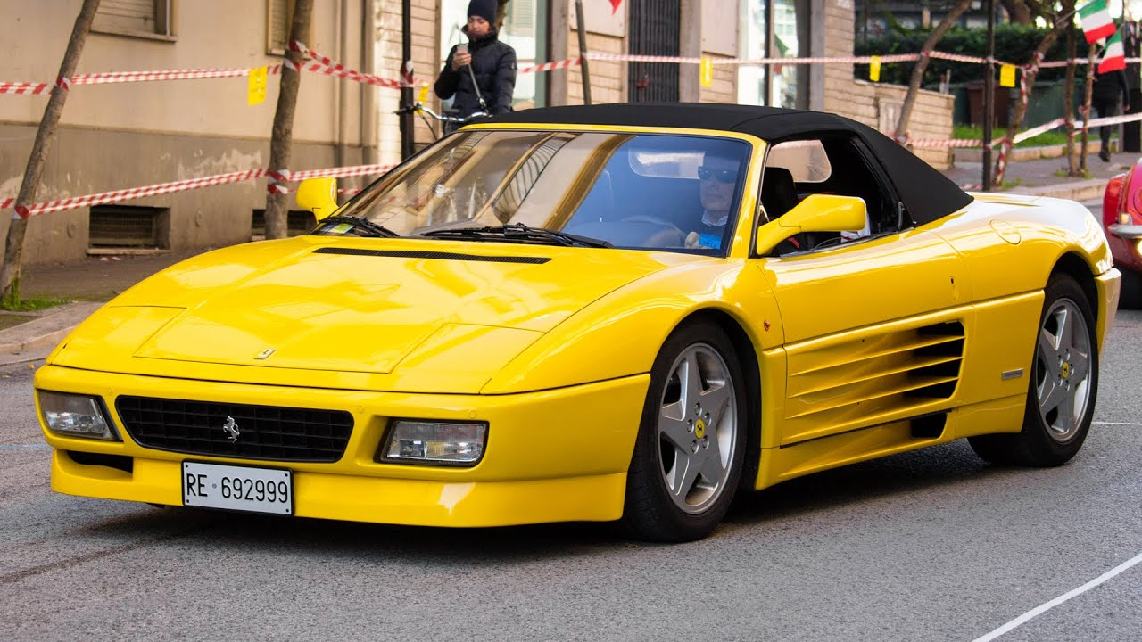 FERRARI 348 SPIDER - REVIEW 2014 HQ - YouTube
