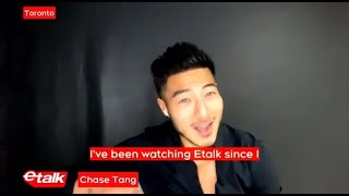 eTalk - Canadian Actor Chase Tang