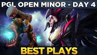 BEST PLAYS - FINAL DAY - PGL Open Minor Dota 2