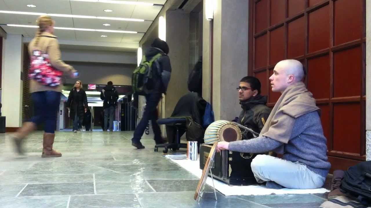 University of Michigan - Mason Hall - Bhakti Yoga Society - Hare Krishna -  Deva