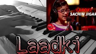 Laadki-Instrumental cover and easy piano lessons| Sachin Jigar|