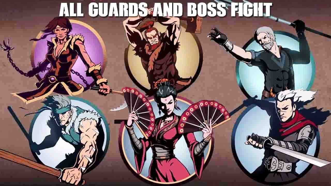 Shadow Fight 2 - WIDOW- Bodyguards - FULL EPISODE