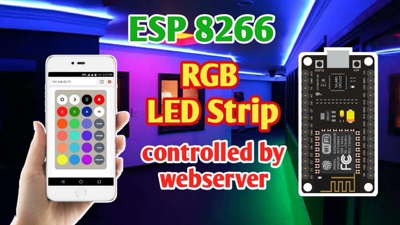 Nodemcu Ws2812b Control