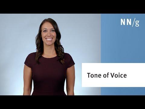 Establishing Tone of Voice