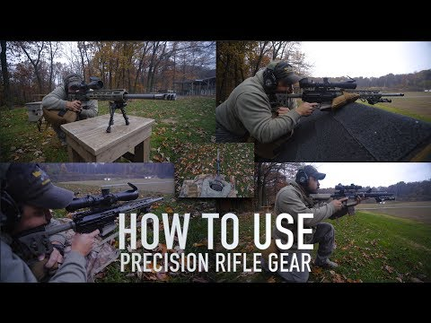 HOW TO USE Precision Rifle Gear - Cole-Tac #NotAReview!