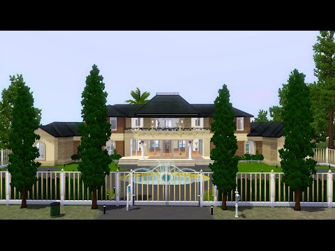 Sims 3 Speed Build - Celebrity Villa (Part 1)