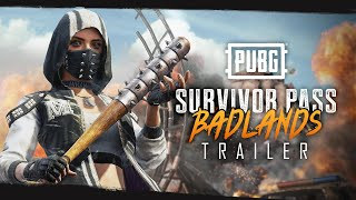 Pubg Survivor Pass Badlands Trailer Video Trailer Games Xtreme