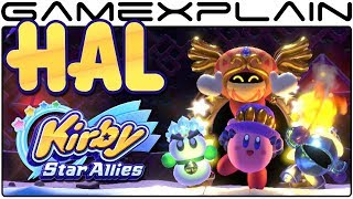 Kirby Star Allies - Discovering the Secret HAL Room