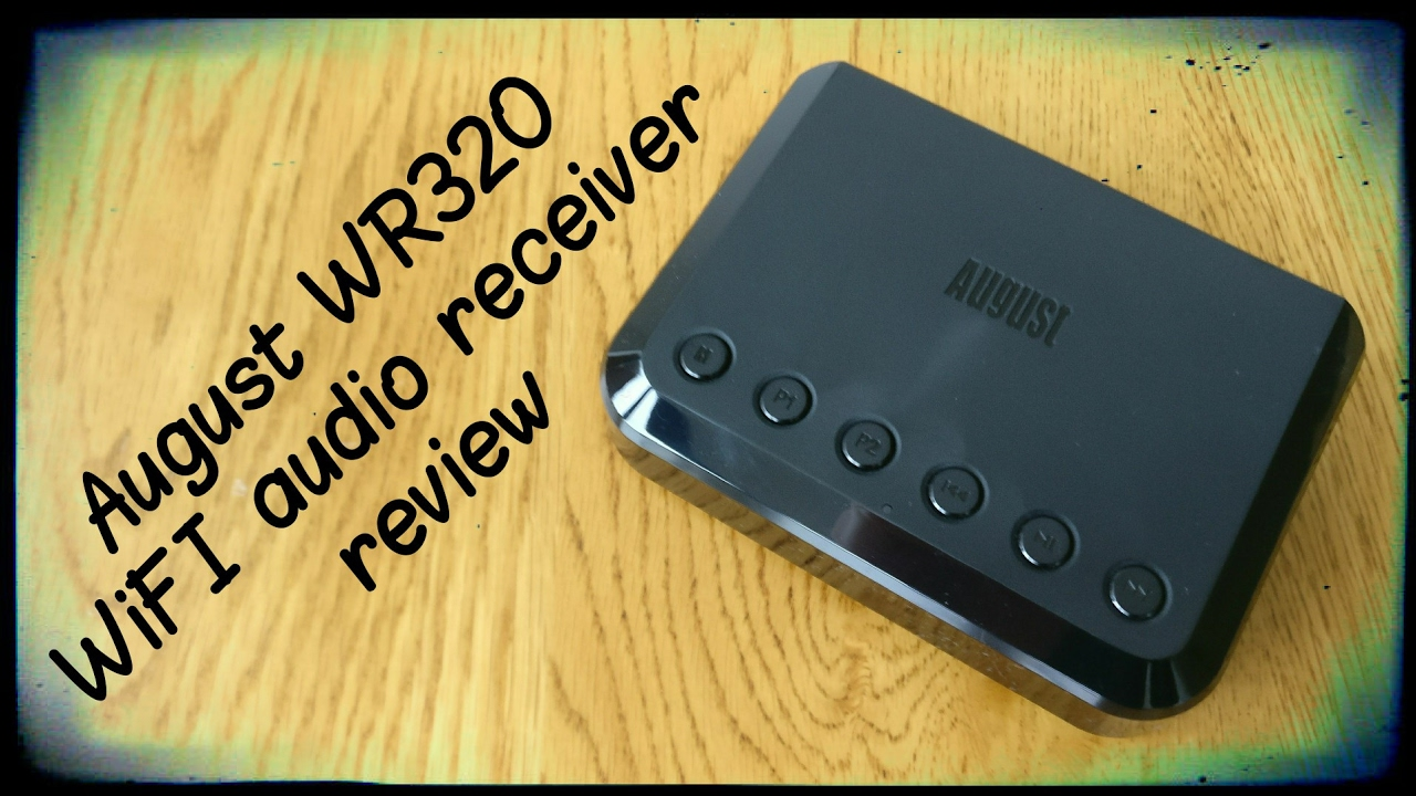 August WR320 WiFi Audio Receiver