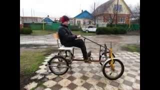 видео: 4-х колесный велик. Часть3
