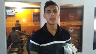 """Leandro Paredes saluda a """"La Mitad M�s 1"""""""