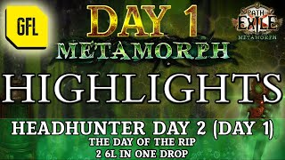 Скачать Path Of Exile 3 9 METAMORPH DAY 1 Highlights HEADHUNTER DAY 1 THE DAY OF THE RIPS AND BUGS