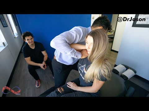 Dr. Jason - YOUTUBER CAN'T TURN HER NECK (CHRISTIAN DELGROSSO'S GIRLFRIEND)