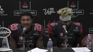 Fresno State Football: Ronnie Rivers and Marcus McMaryion Postgame Press Conference 12/15/18