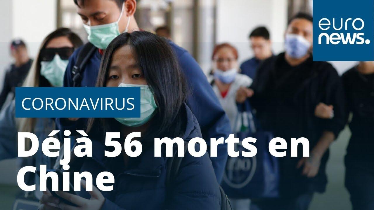 Déjà 56 morts du coronavirus en Chine - YouTube