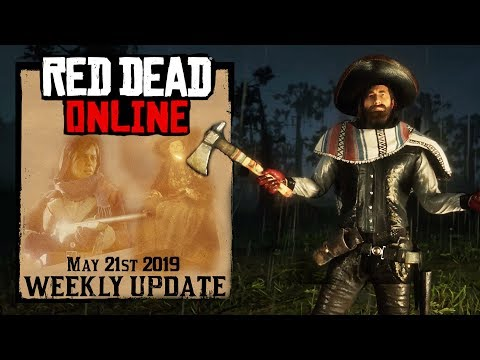 Red Dead Redemption 2 Online Update RDR2 FREE Item PS4 Exclusive