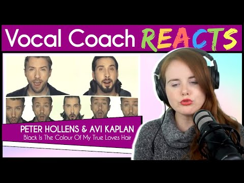 Vocal Coach Reacts To Black Is The Color Of My True Love's Hair - Peter Hollens & Avi Kaplan