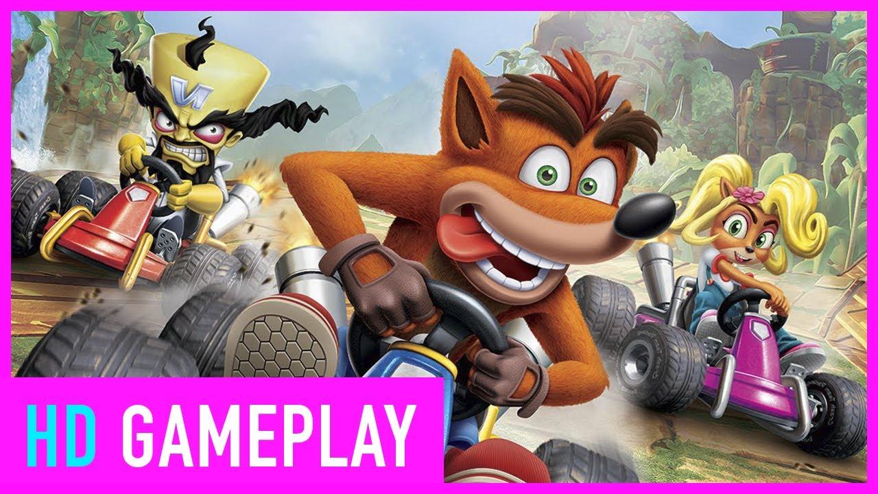 Crash Team Racing: Nitro Fueled - Gameplay zum Mario Kart Konkurrenten