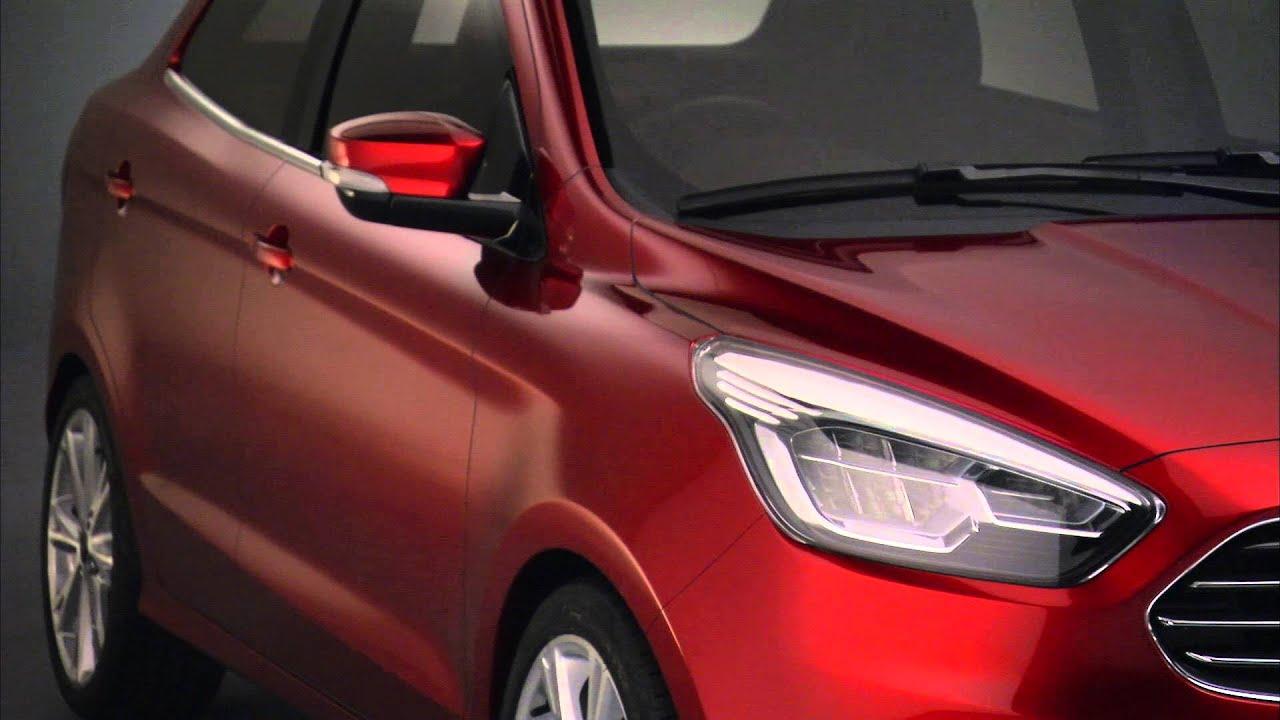 Ford Figo Compact Sedan Concept 360 View