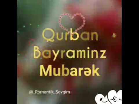 Qurban Bayraminiz Mubarek Olsun Youtube