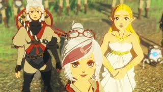 Hyrule Warriors: Age of Calamity - All Cutscenes The Movie HD