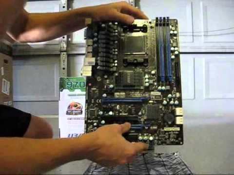 MSI 970A-G46 AM3+ AMD 970 SATA 6Gb/s USB 3 0 Motherboard Unbox