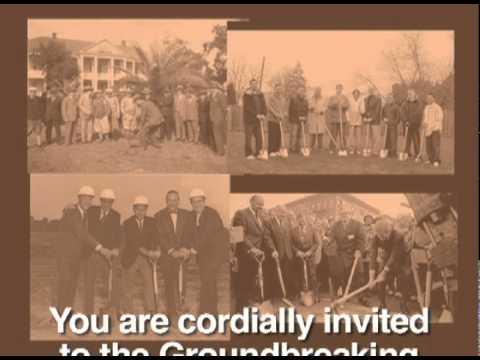 Emily Gray Junior High School Groundbreaking Invitation