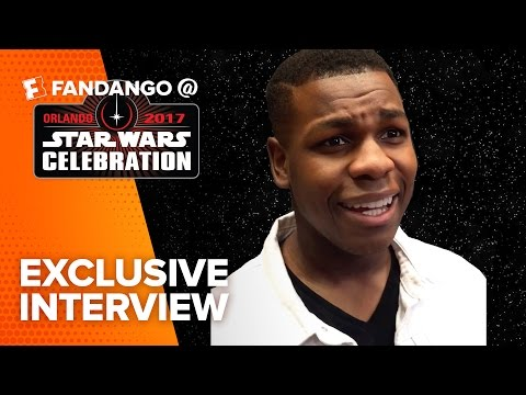 John Boyega Says Finn Has A New Mission in The Last Jedi (2017) | Fandango All Access