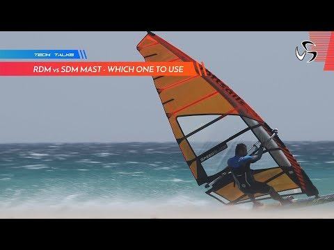Using RDM or SDM mast for cambered sails   Monty Spindler Tech Talks
