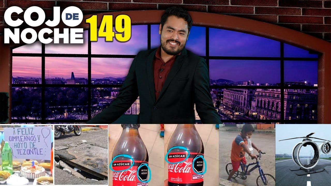 Cumpleaños a bache | Las nuevas etiquetas de la comida chatarra | Niño y bici sin llantas | CDN149