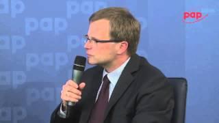 Debata PAP Biznes o OFE -  Ludwik Kotecki, główny ekonomista Ministerstwa Finansów, cz.4