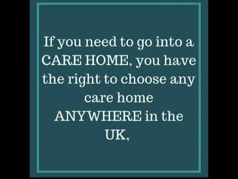 ADULT SOCIAL CARE RIGHTS CHOICE