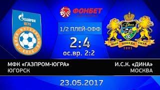 1/2 финала  Газпром ЮГРА   Дина  2 4  Четвертая игра