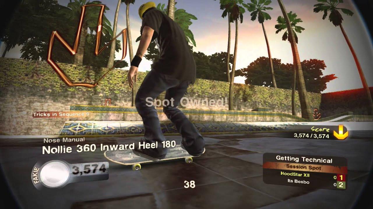 skate. 2 gameplay