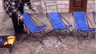 как сделать стул для рыбалки