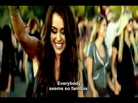 Miley Cyrus - Party In The USA with Subtitle