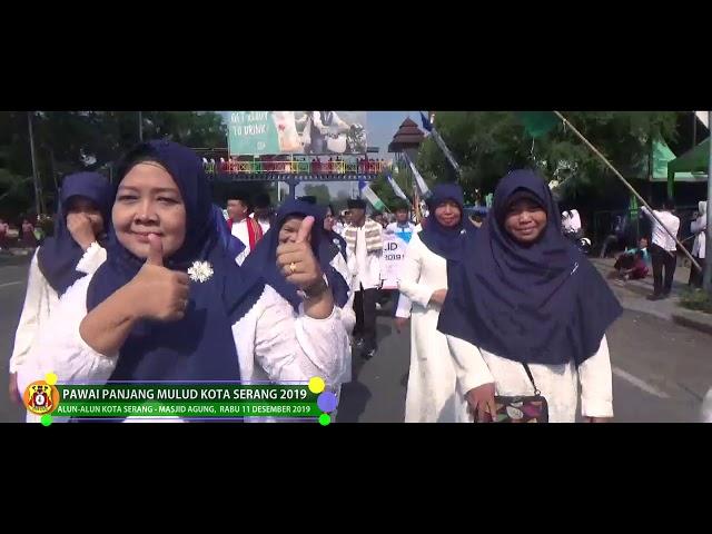Partisipasi Panjang Mulud SMPN1 Kota Serang 2019