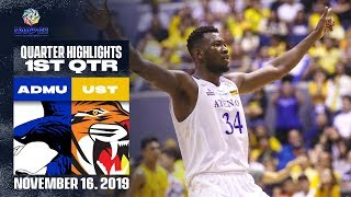 ADMU vs. UST | November 16, 2019 | 1st Quarter Giga Highlights | UAAP 82 MB