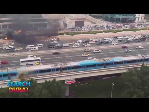 Sheikh Zayed Road Crane Crash and Dubai Metro Sparks