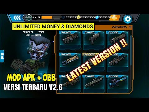 Call Of Mini Infinity V2.6 Hack APK+OBB Unlimited All [FREE SHOPING] - 동영상